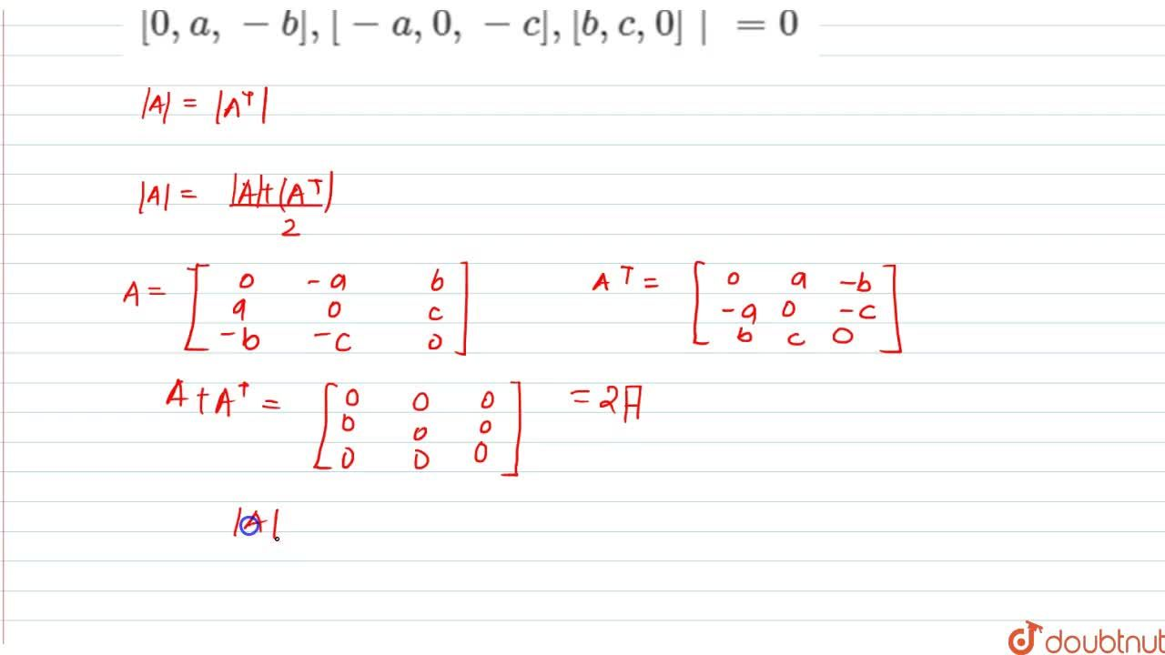 Solution for Show without expanding at any stage that:  [0,a,-