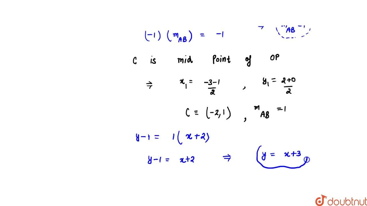 Find the equation to the chord of contact of the tangents drawn from an external point (-3, 2) to the circle x^2 + y^2 + 2x-3=0.