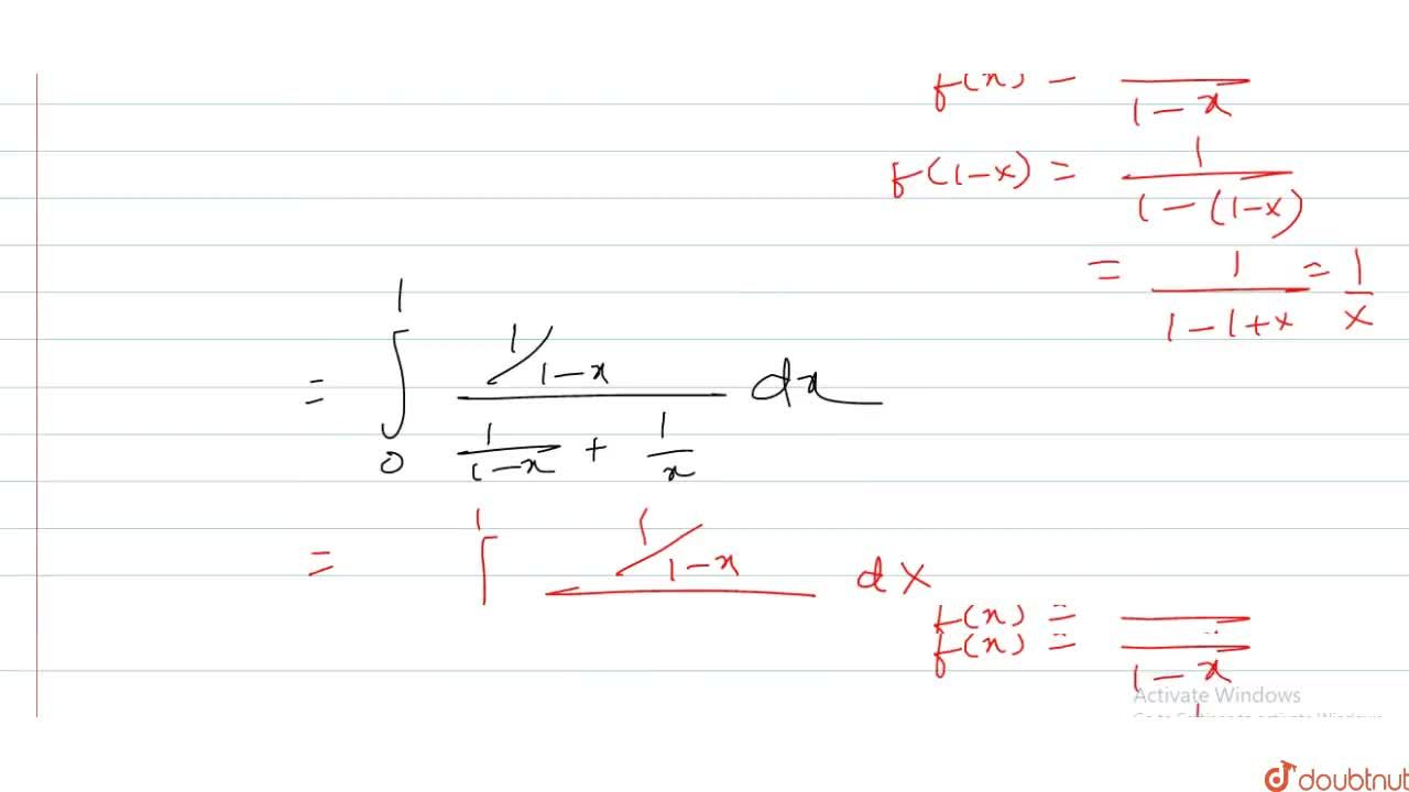 Solution for If a, b (altb) be the points of discontinuity of
