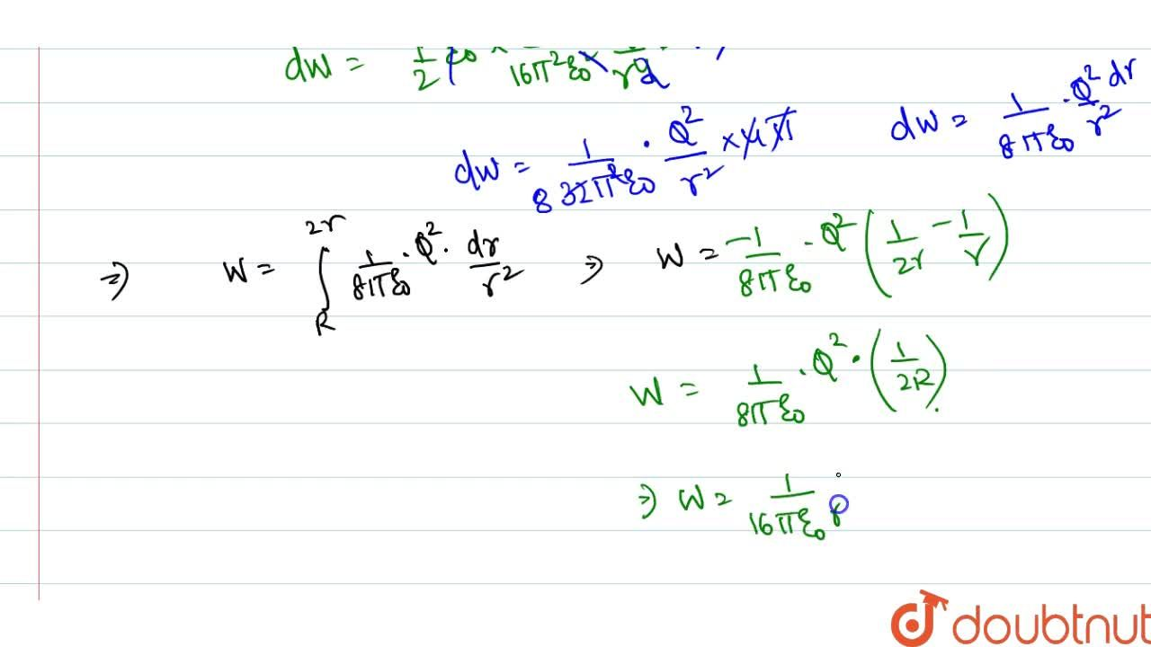 Solution for A conducting sphere of radius R carries a charge Q