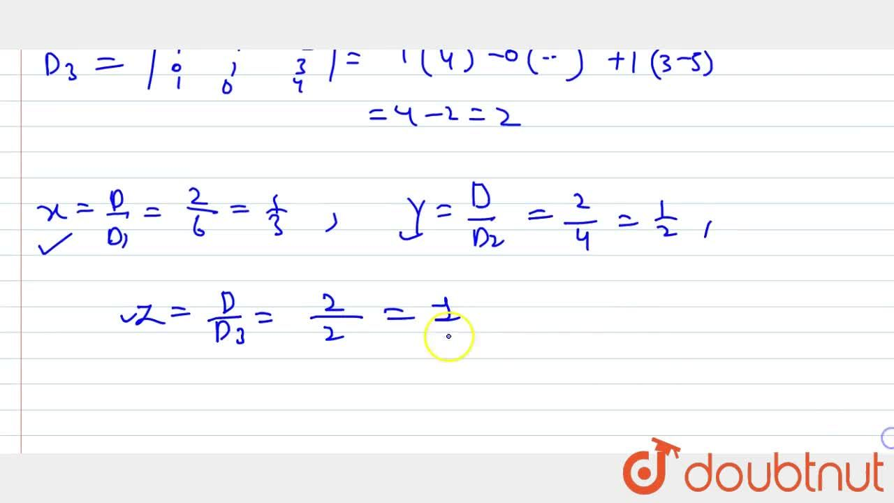 Solve the following