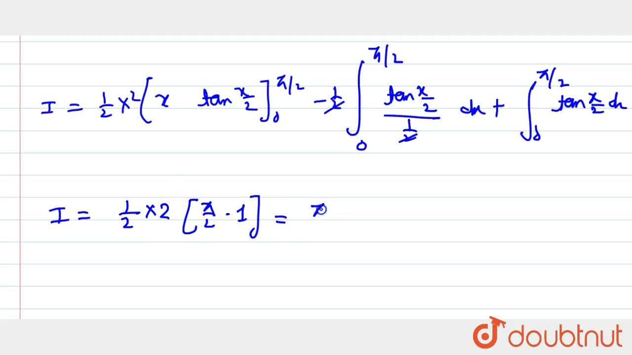 Solution for Evaluate the following integral: int_0^(pi,,2)(x+