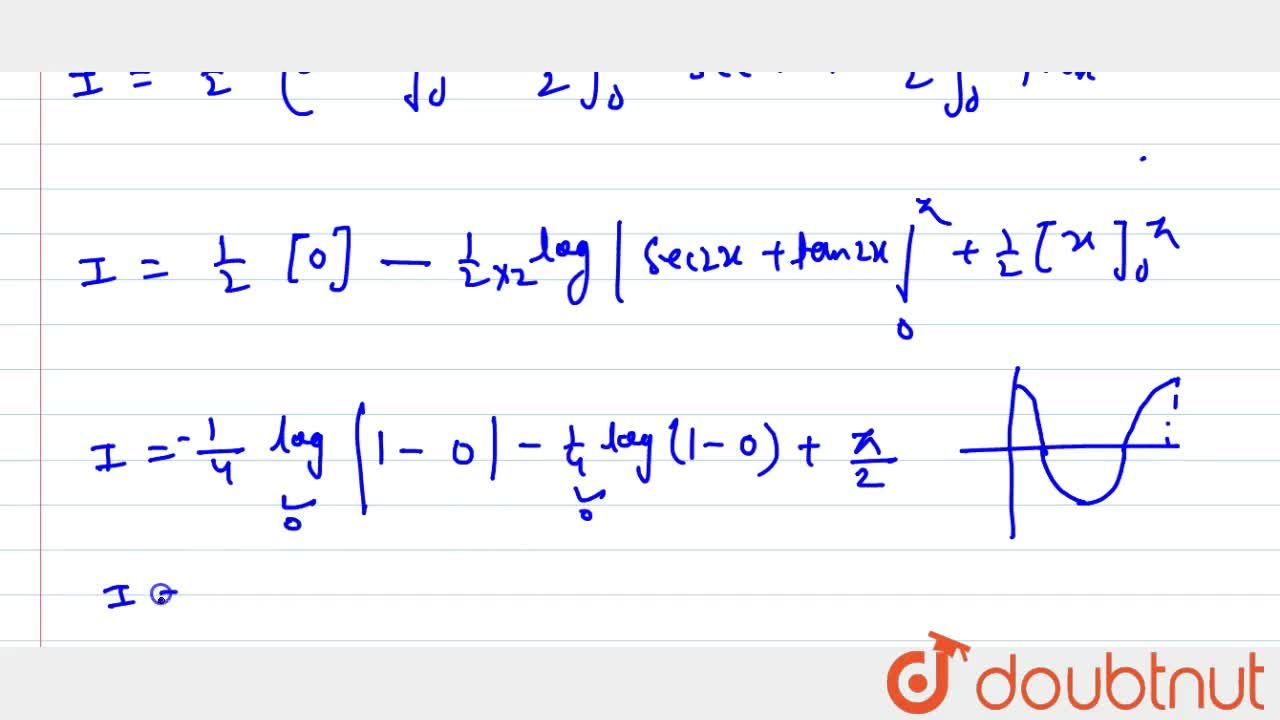 Solution for Evaluate the following integral: int_0^pi(sinx),(
