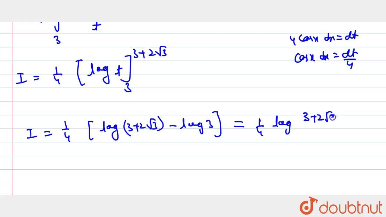 Solution for Evaluate the following integral: int_0^(pi,,3)(co