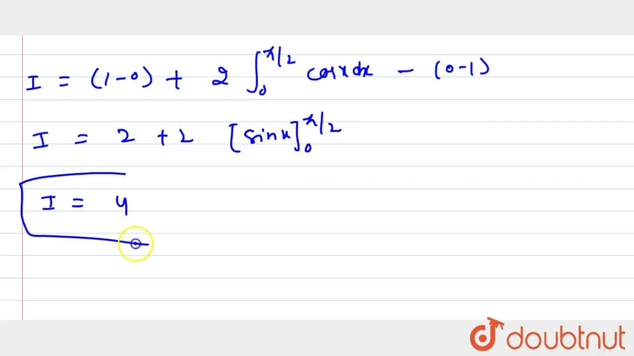 Solution for Evaluate the following integral: int_(-pi,,2)^(pi