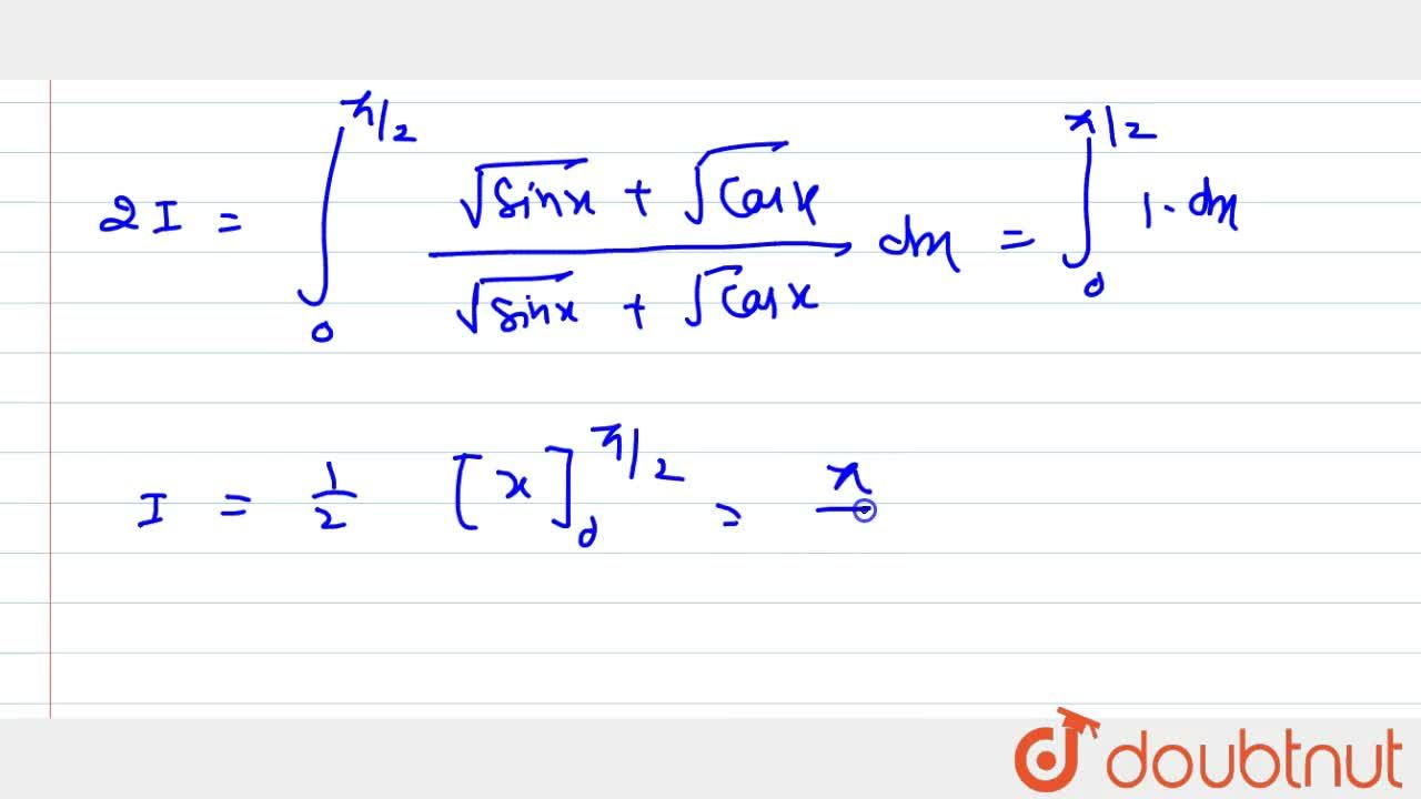 Solution for Evaluate: int_0^(pi,,2)(sqrt(s in x)),(sqrt(s in
