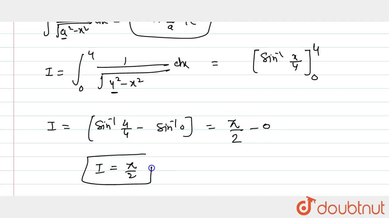 Solution for Evaluate each of the following integral: int_0^4