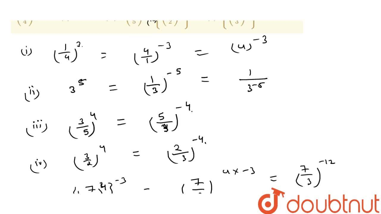 Solution for Express each of the following rational numbers