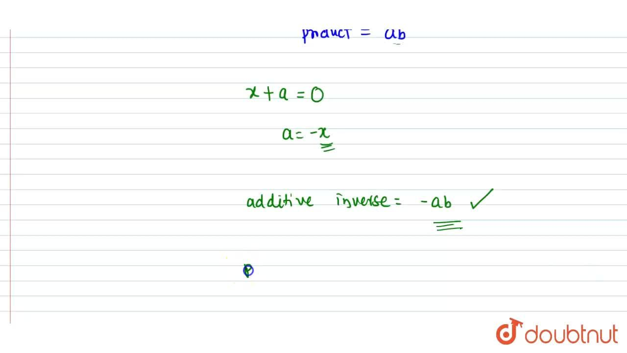 Solution for The product of the two integers of opposite signs