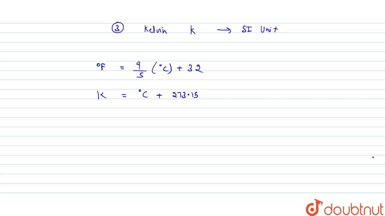 Solution for MASS, WEIGHT, VOLUME, DENSITY AND TEMPERATURE