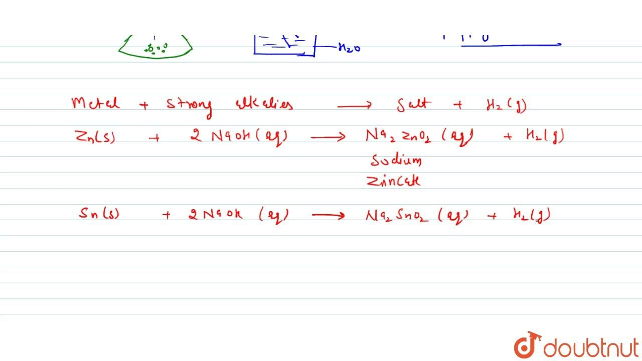 Solution for Reaction With Metal