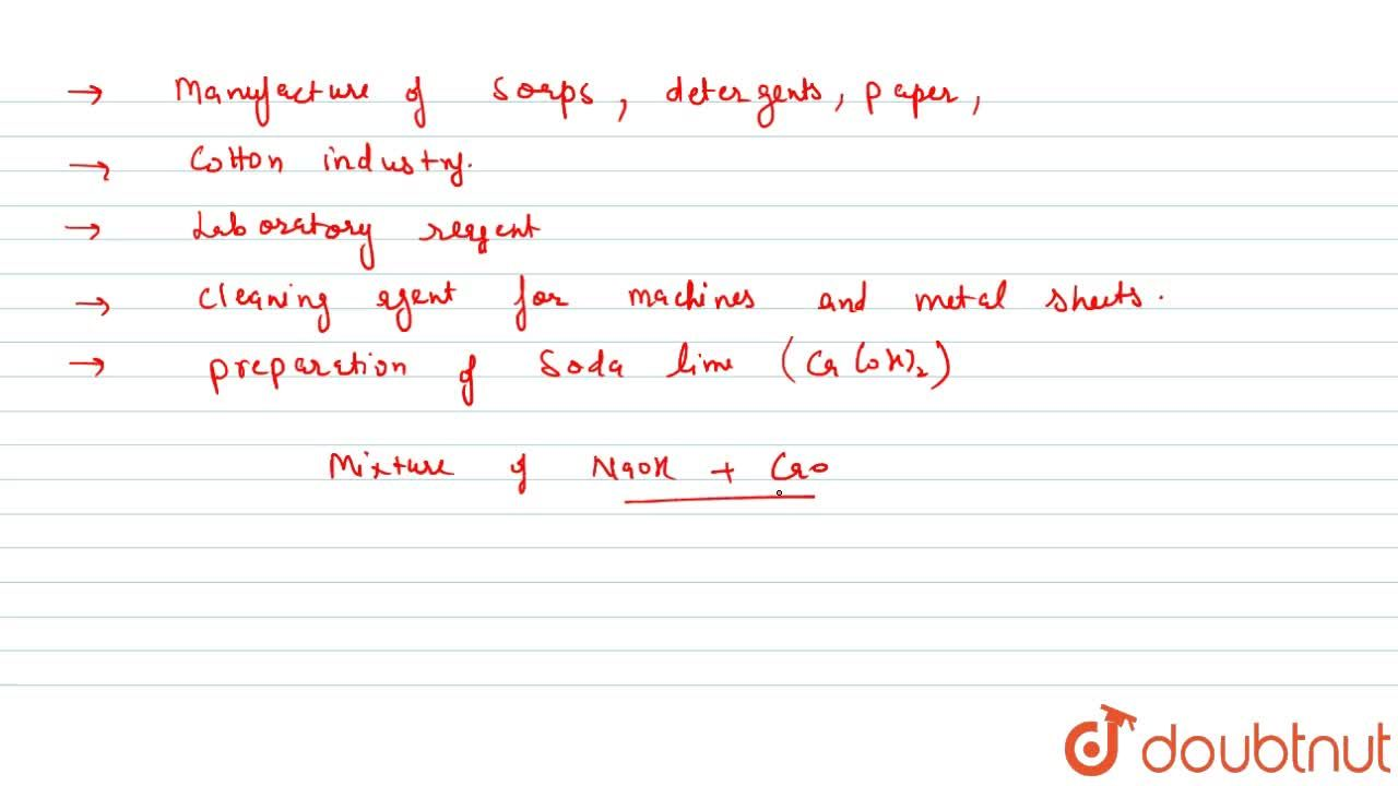 Solution for Caustic Soda