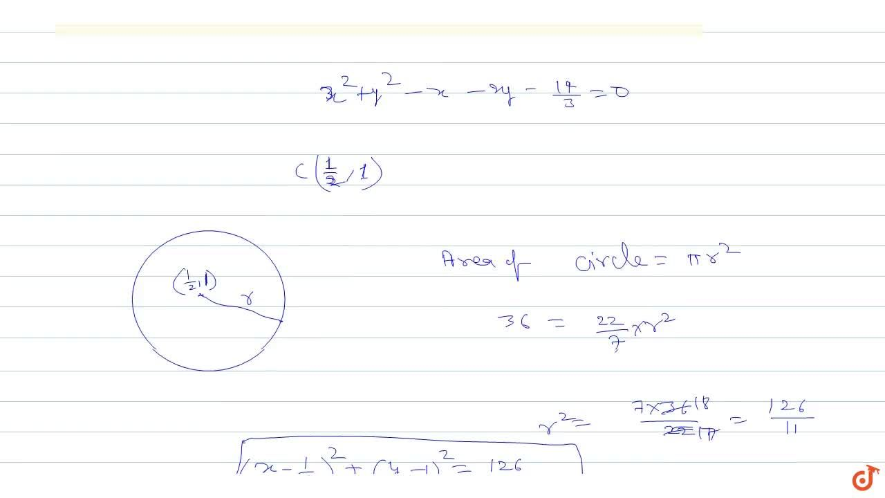Solution for Find the equation of circle concentrix with 3x^2+