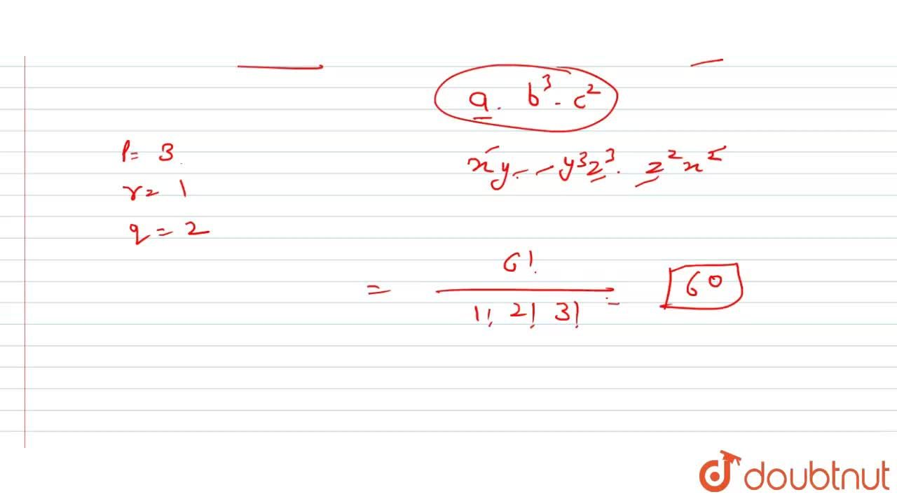 Solution for Find the coefficient of x^3y^4z^5 in the expansi