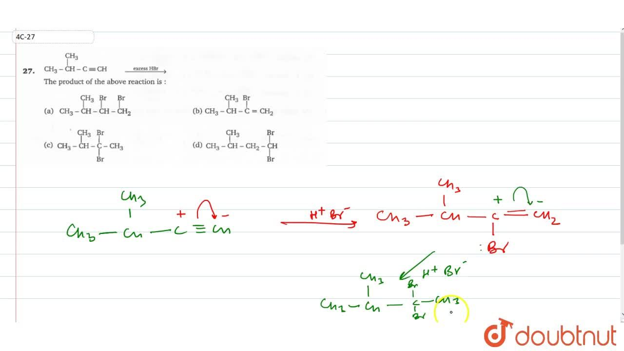 Solution for CH_(3)-overset(CH_(3))overset(|)(CH)-C-=CH overse