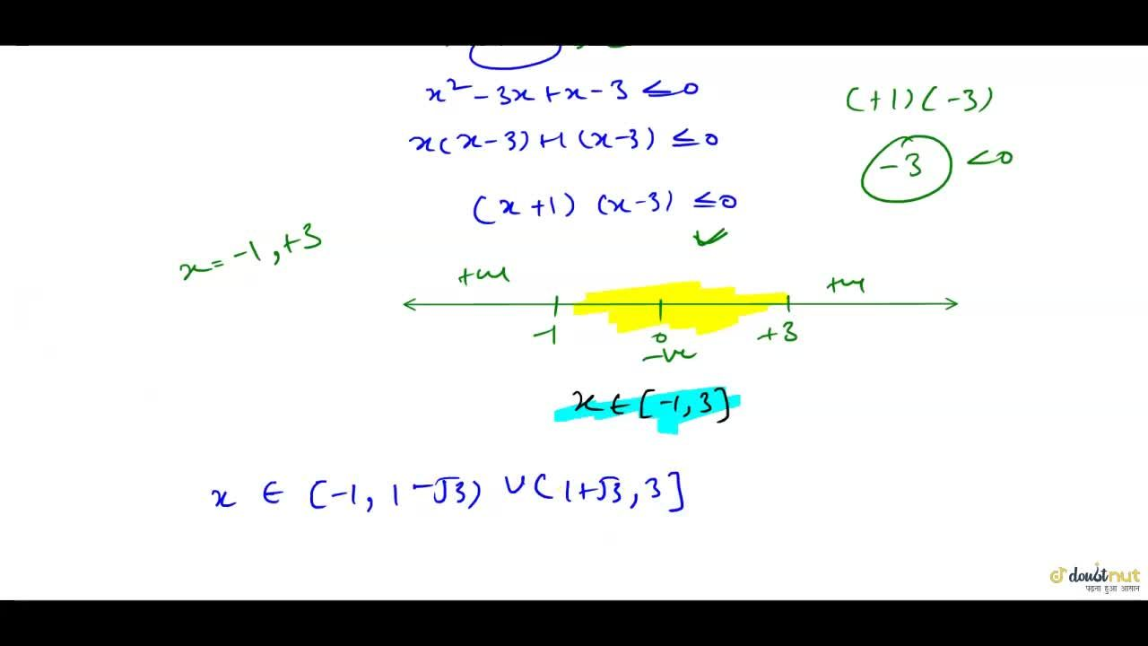 Solution for  Solution set of inequality log_(10)(x^(2)-2x-2)l