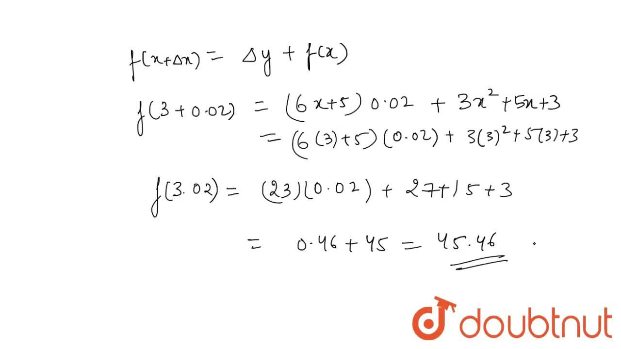 Find the approximate