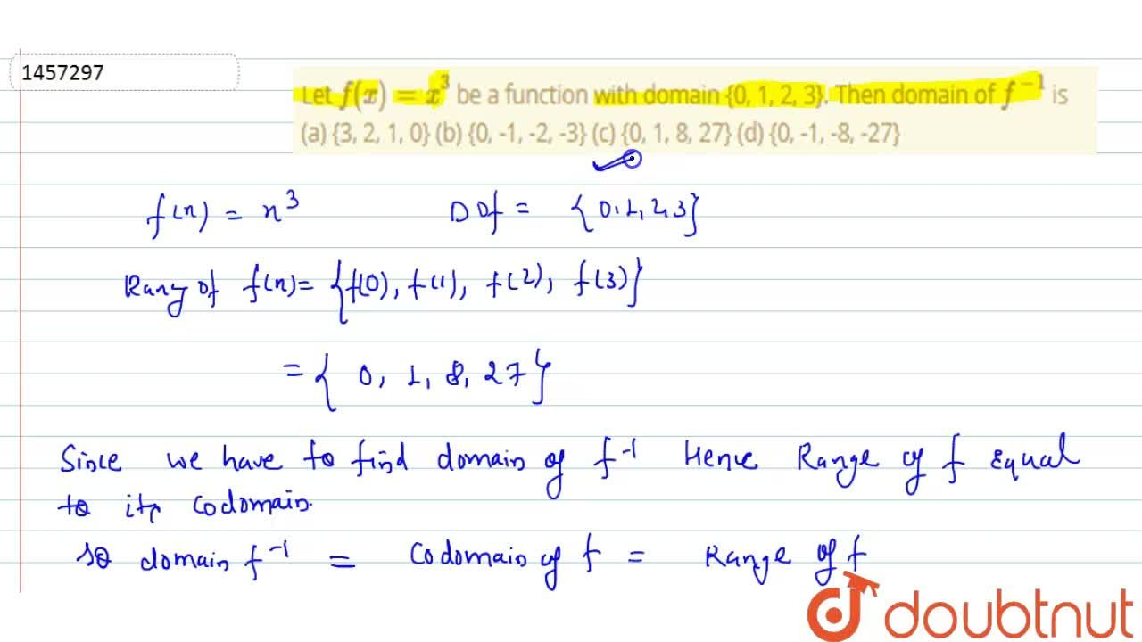 Let f(x)=x^3 be a function with