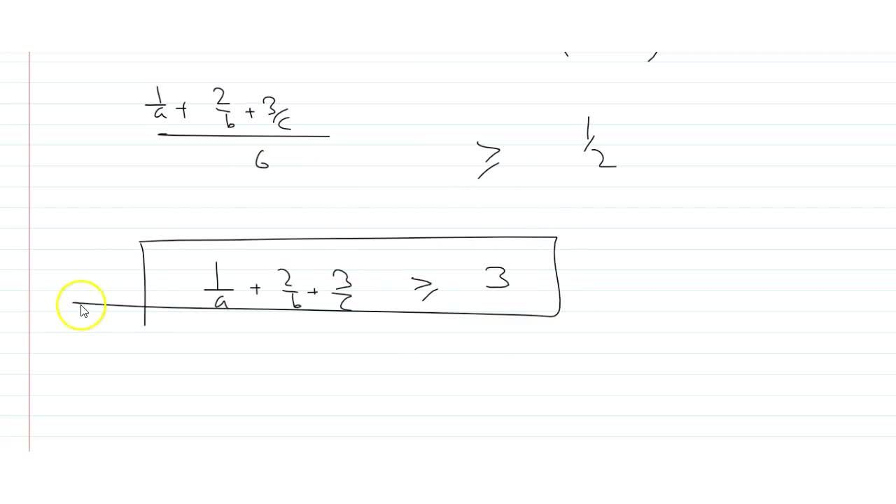 Solution for If a, b, c are positive real numbers such that