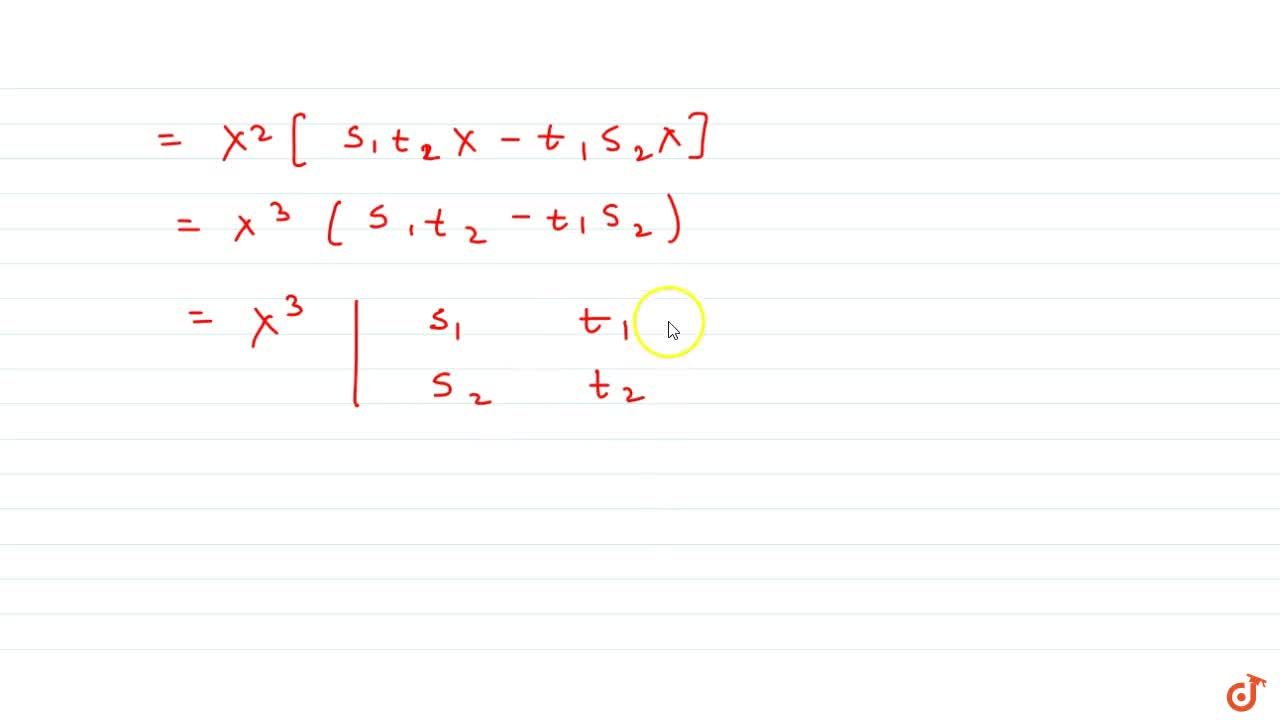 Solution for  If  Y = sX and Z = tX, where all the letters de