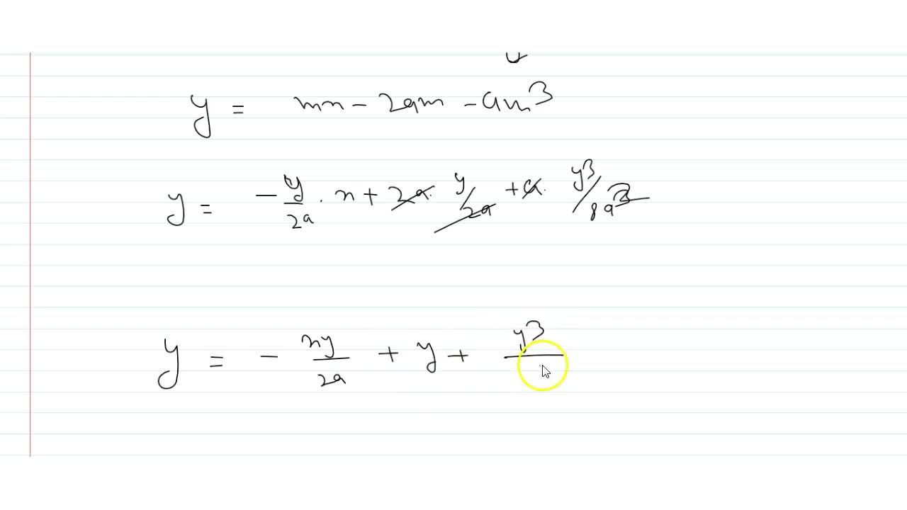 Solution for The locus of the point through which pass three no