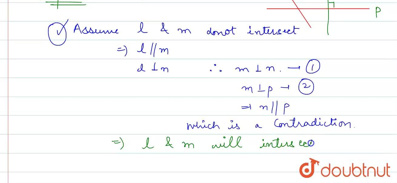 Solution for Prove that two lines that are respectively perpend