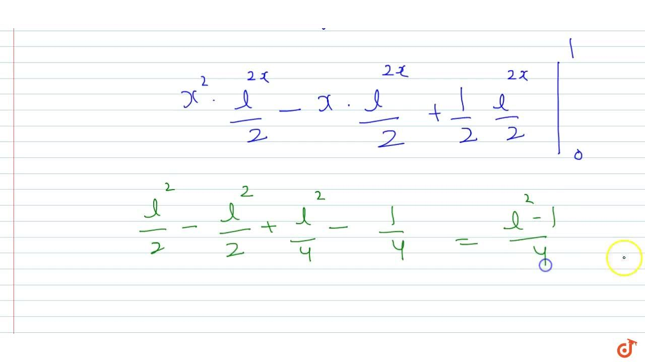 Solution for The value of int_0^1lim_(n->oo)sum_(k=0)^n(x^(k+2