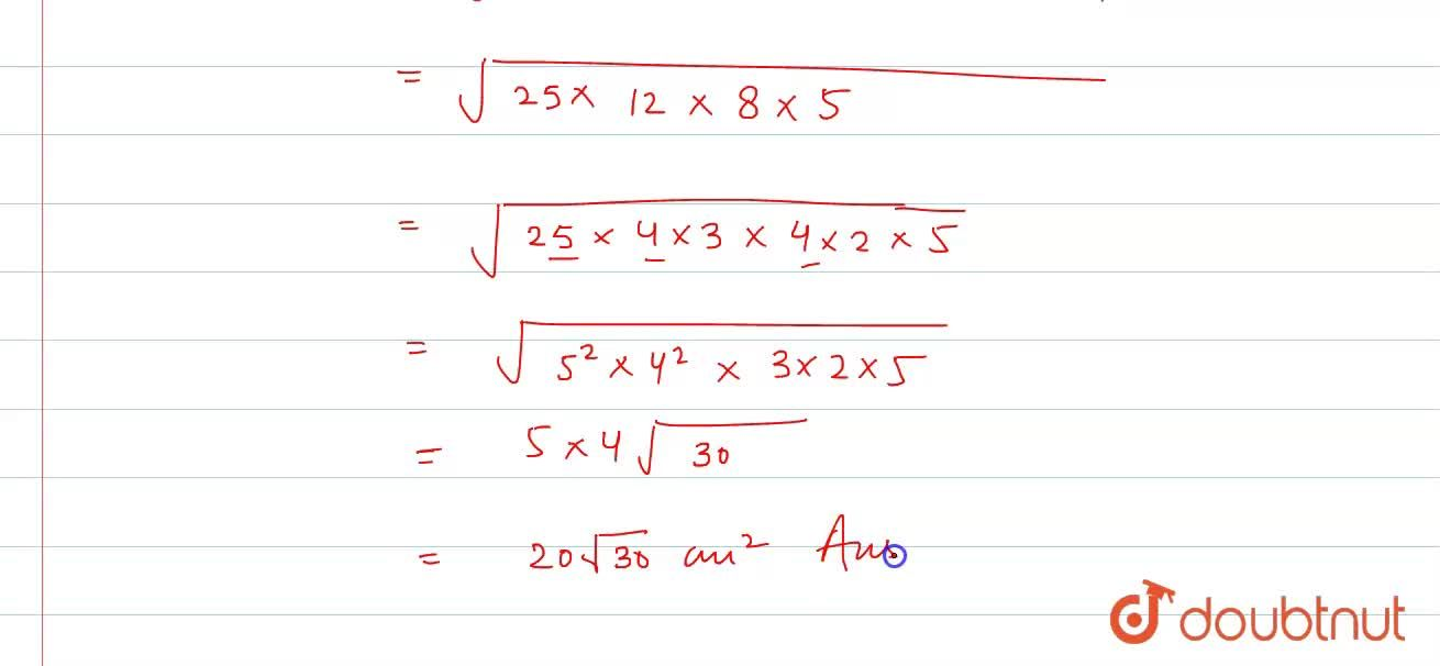 Solution for The perimeter of a triangle is 50 cm. One side of