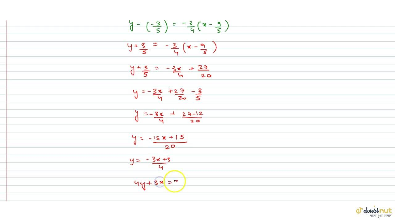 Solution for Find the equation of the straight line parallel to