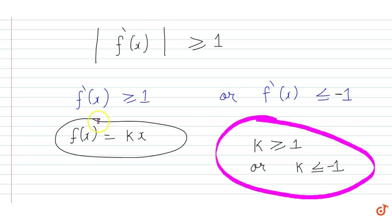 Solution for Let f:R->R be a continuous function such that |