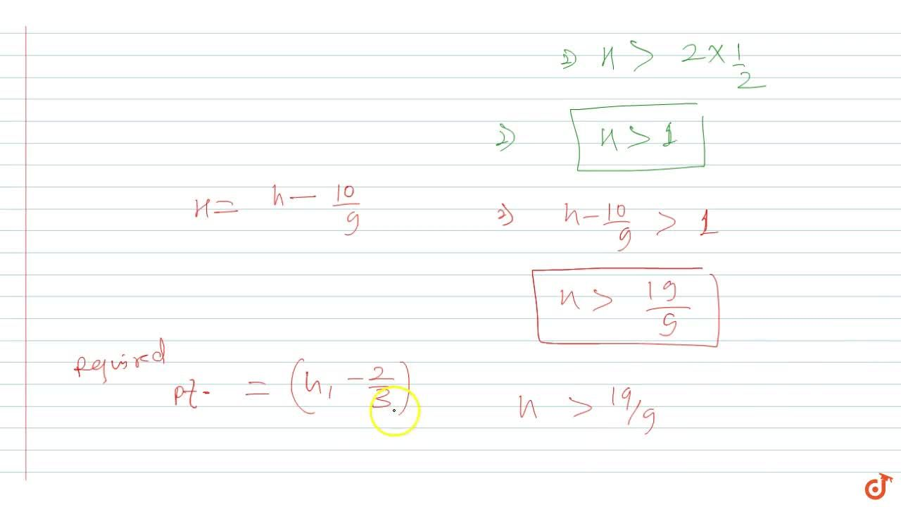 Solution for Find the point on the axis of the parabola  3y^2+