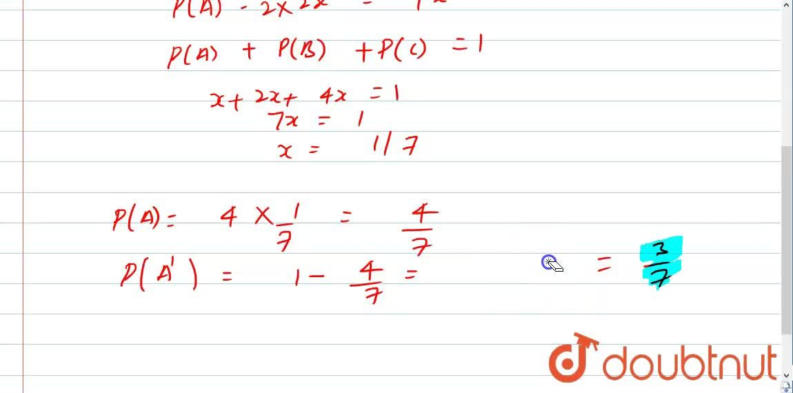 Solution for In a competition A, B and C are participating. The