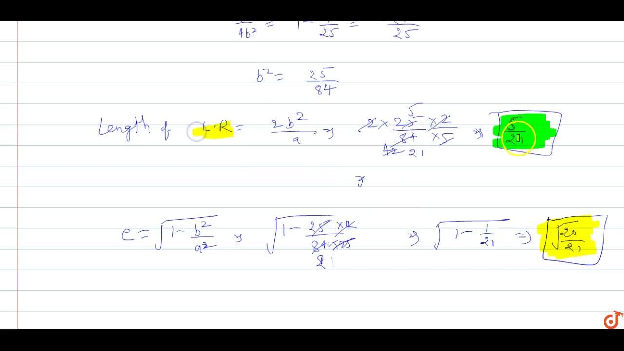 Solution for The ends of the major axis of an ellipse are (- 2,