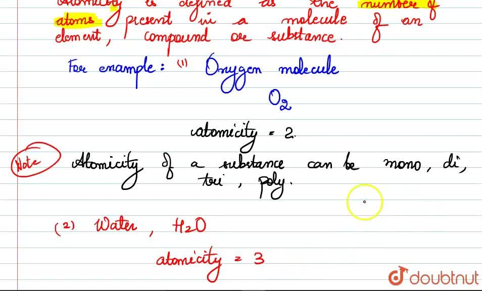 Solution for What is meant by atomicity ? Explain with two exam