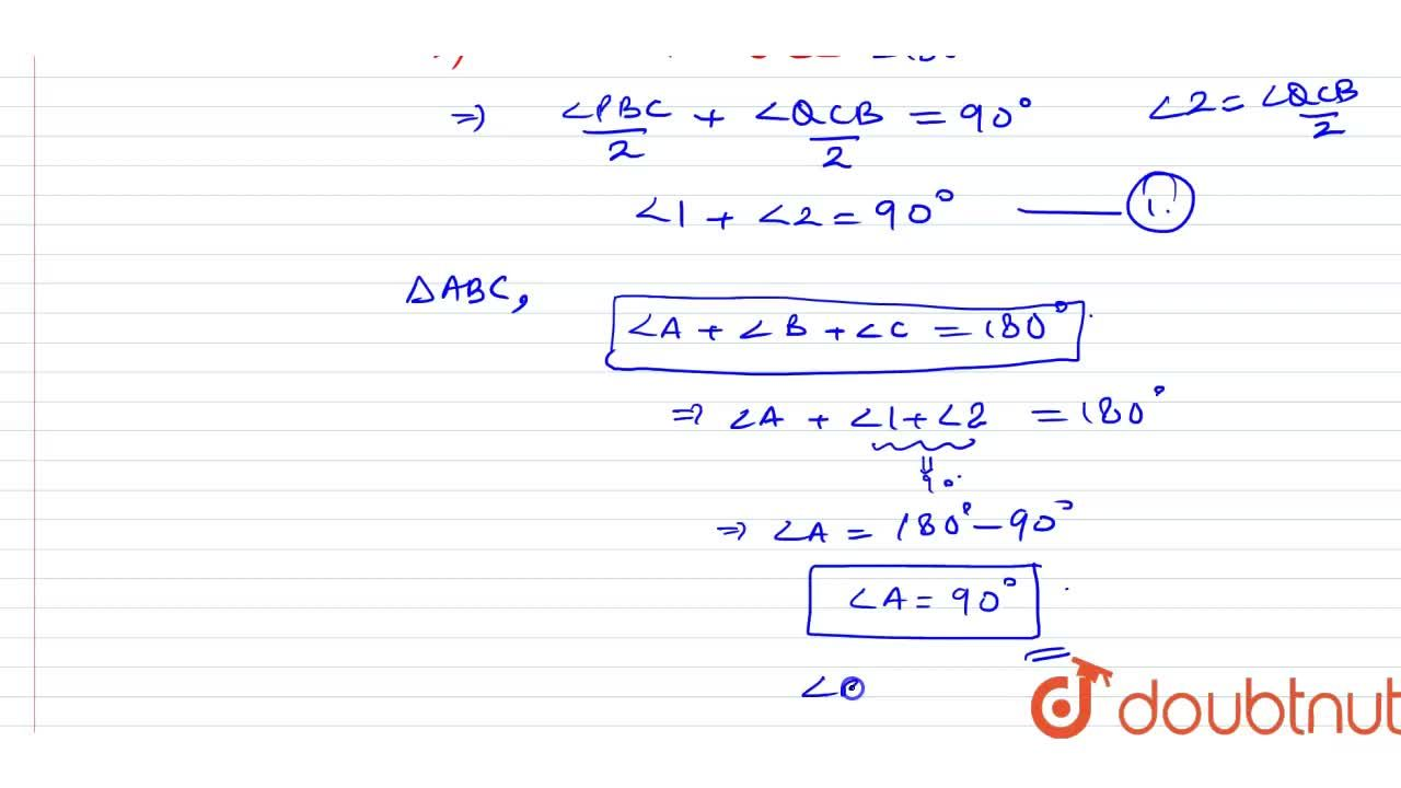 Solution for Show that the bisectors of two adjacent supplement