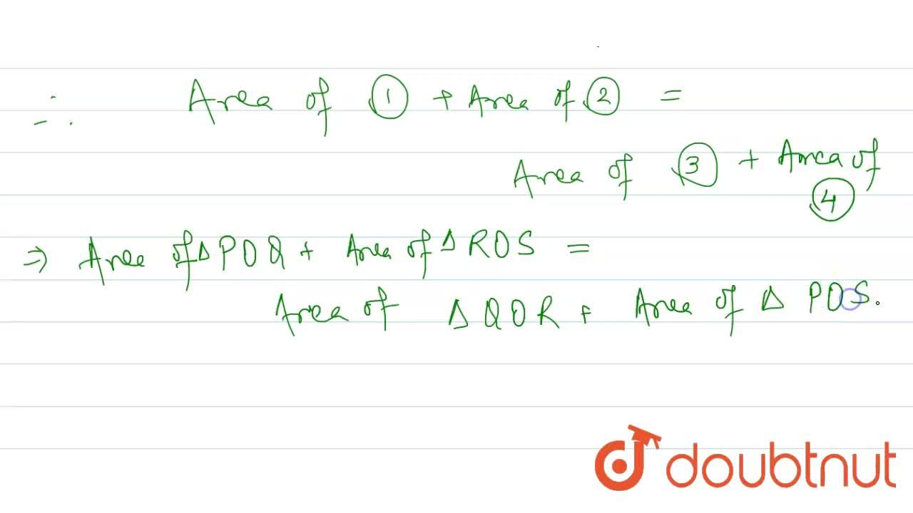Solution for The vertices of a rectangle PQRS are joined from a