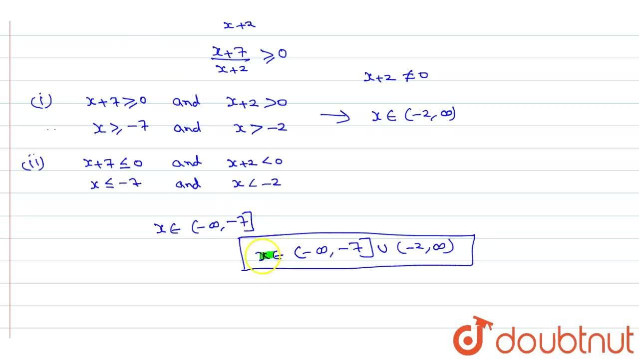 Solution for Solve :  (2x -1),(x +2) le 3