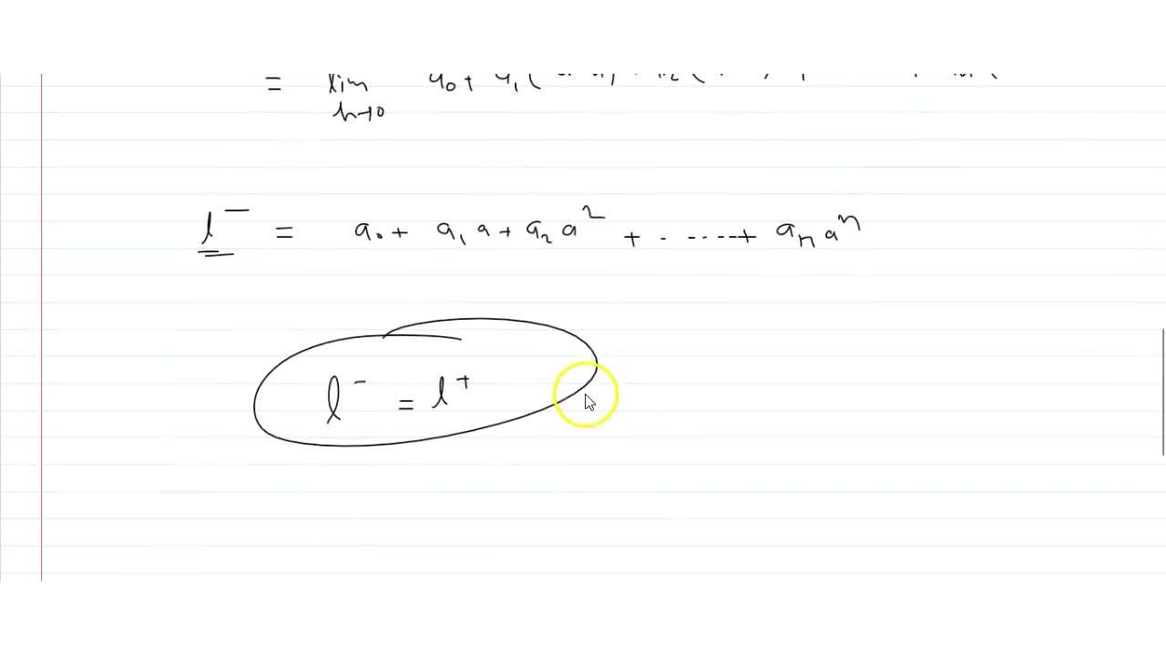Solution for  13. If s(r)=a + at+at++ a, . Then prove that lim