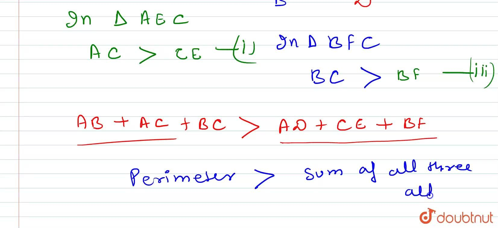 Prove that the perimeter of any triangle is greater than the sum of three altitudes.