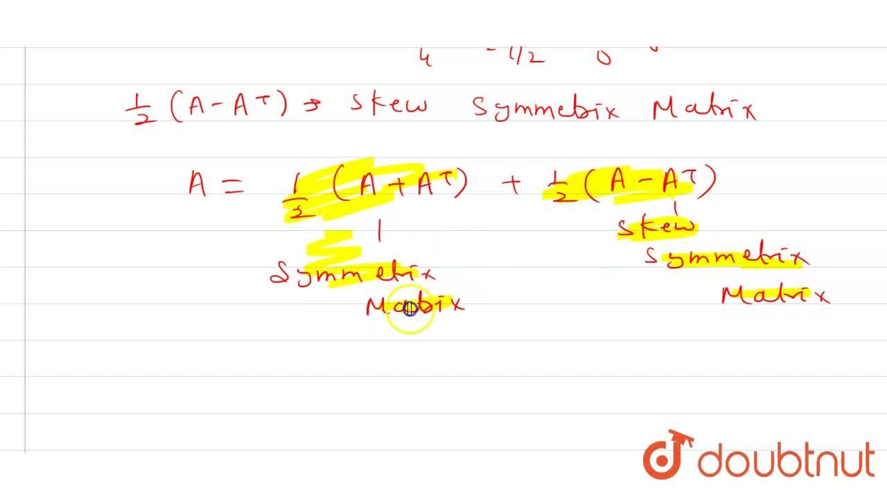 Solution for Expess the  matrix A=[{:(2,0,-4),(-3,1,5),(4,-2,3