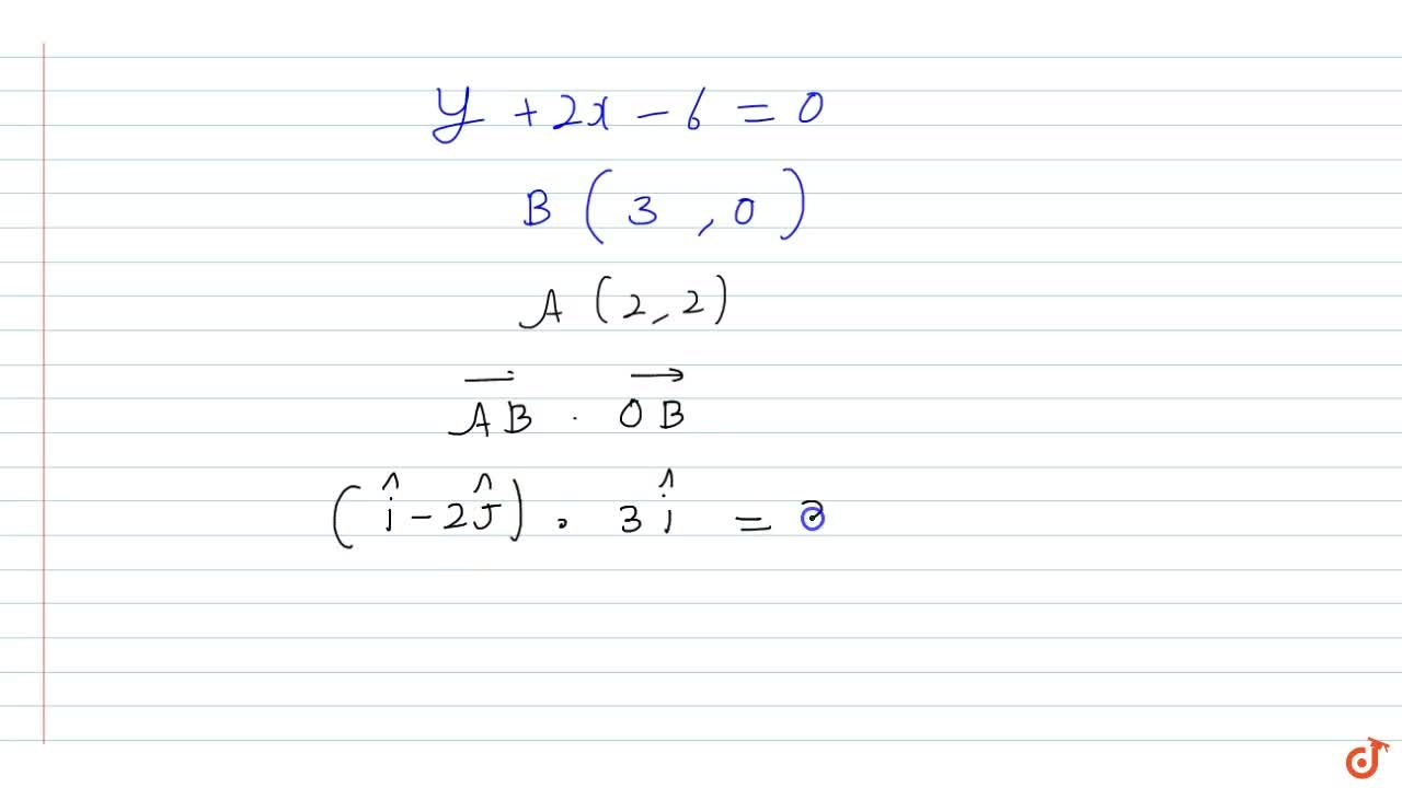 A tangent is drawn to the curve  y=8,x^2 in XY-plane at the point  A(x_0, y_0), where  x_0=2 and the tangent cuts the X-axis at a point B. Then  bar(AB).bar(OB) =