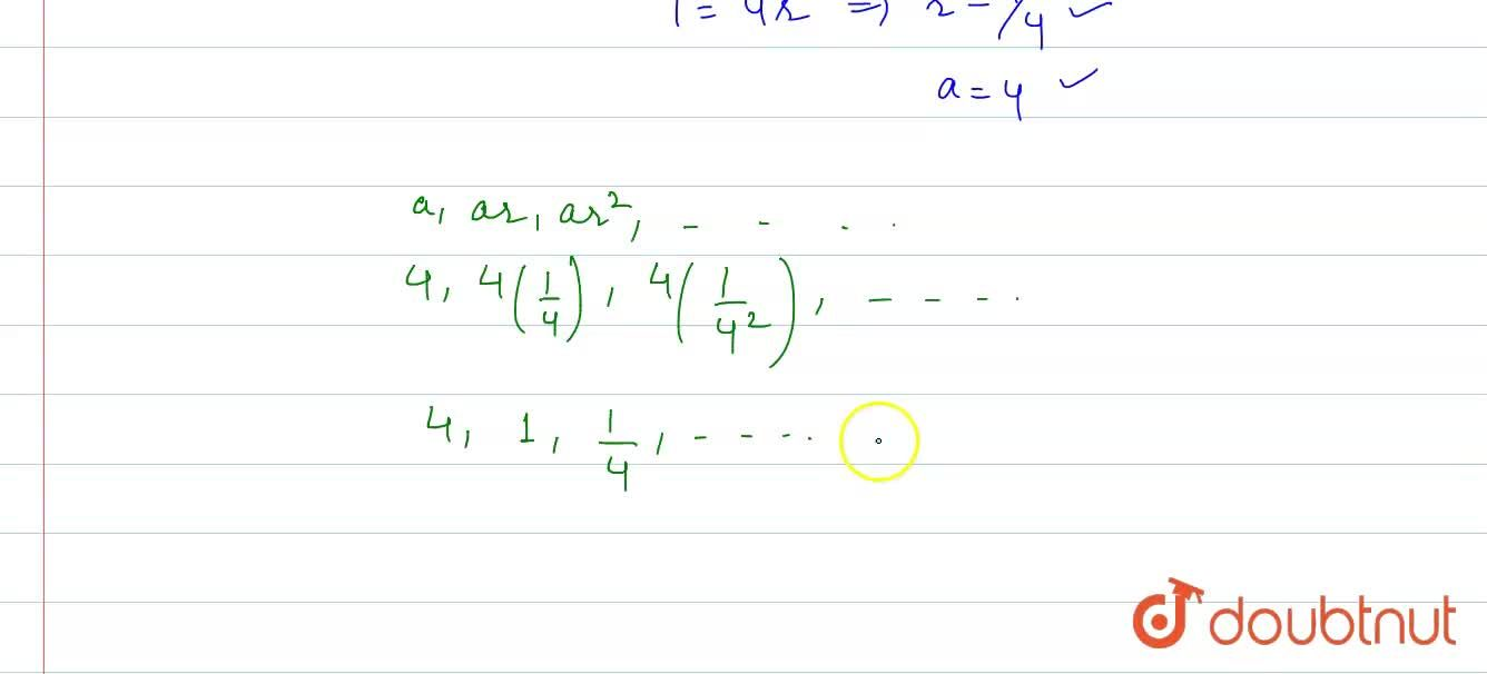 Find the G.P. if the sum of its first two terms is 5 and each term is equal to 3 times the sum of its succeeding terms.