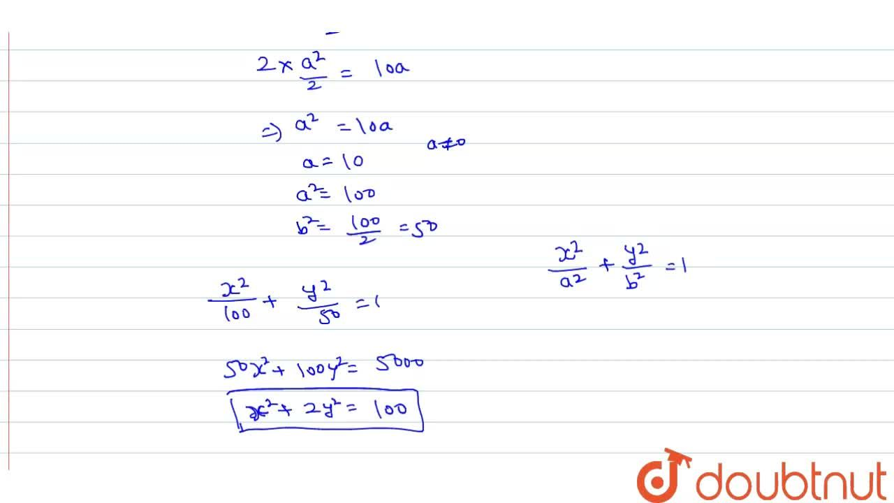 Solution for Find the equation of the ellipse whose minor aixs