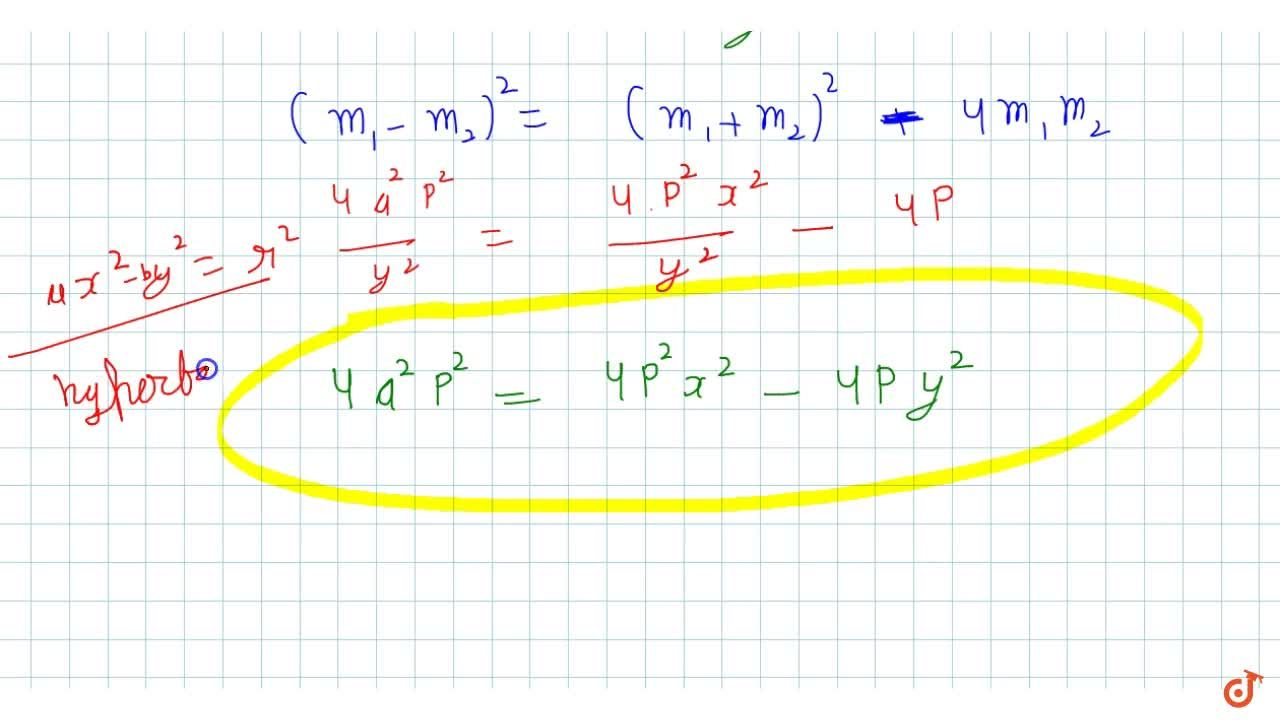 Solution for Two straight lines pass through the fixed points