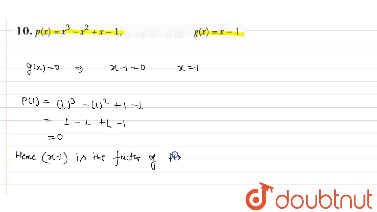 Solution for In each of the following cases (Q.9-12), find whet