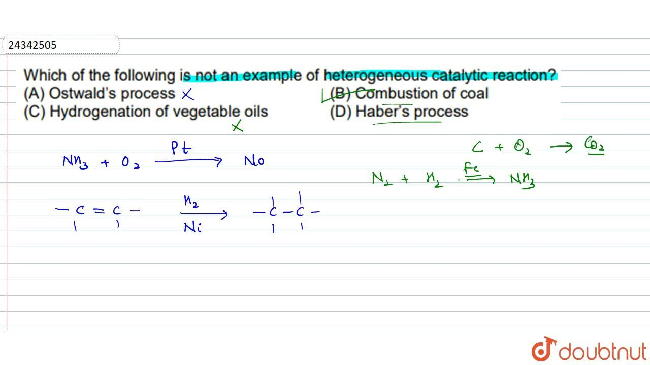 Solution for Which of the following is not an example of hetero