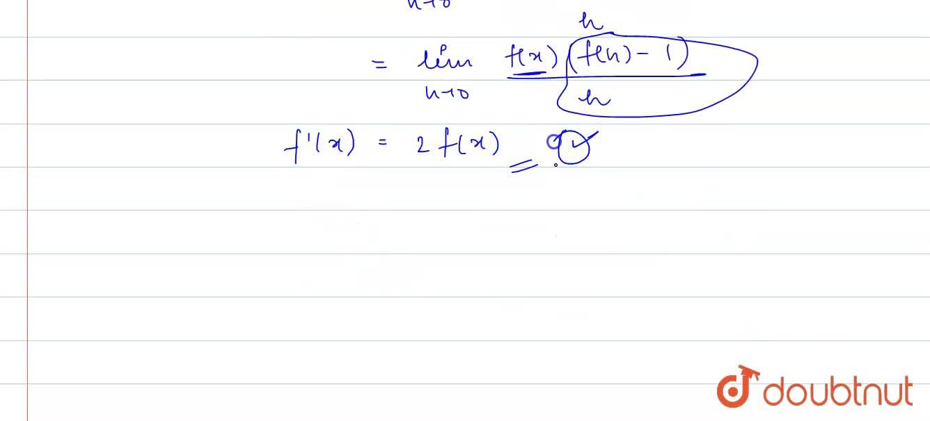 Solution for A function  f  : R rarr R satisfies   the equati