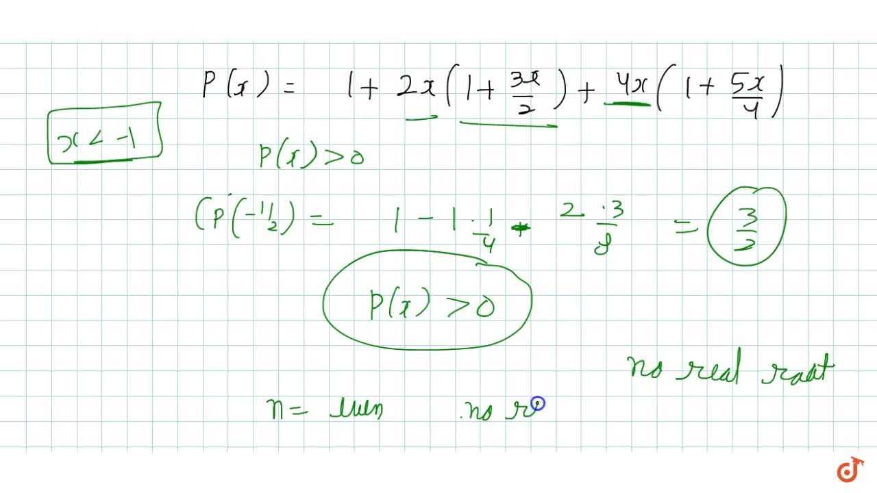 Solution for Let  P_n(ix) =1+2x+3x^2+............+(n+1)x^n be