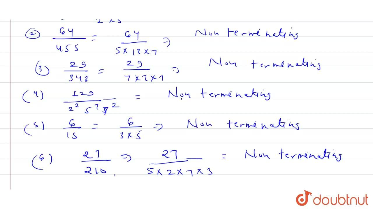 Solution for With out actually performing the long division, st
