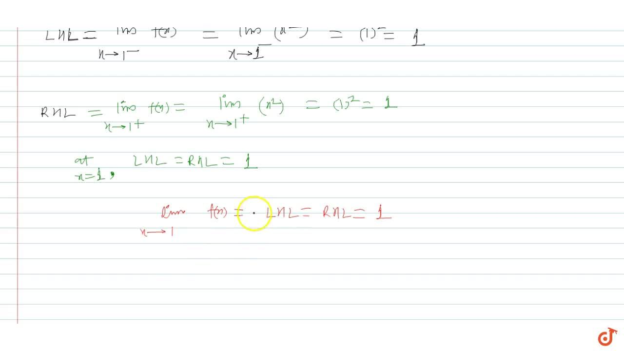Solution for A function f(x) is defined as follows : f(x) ={